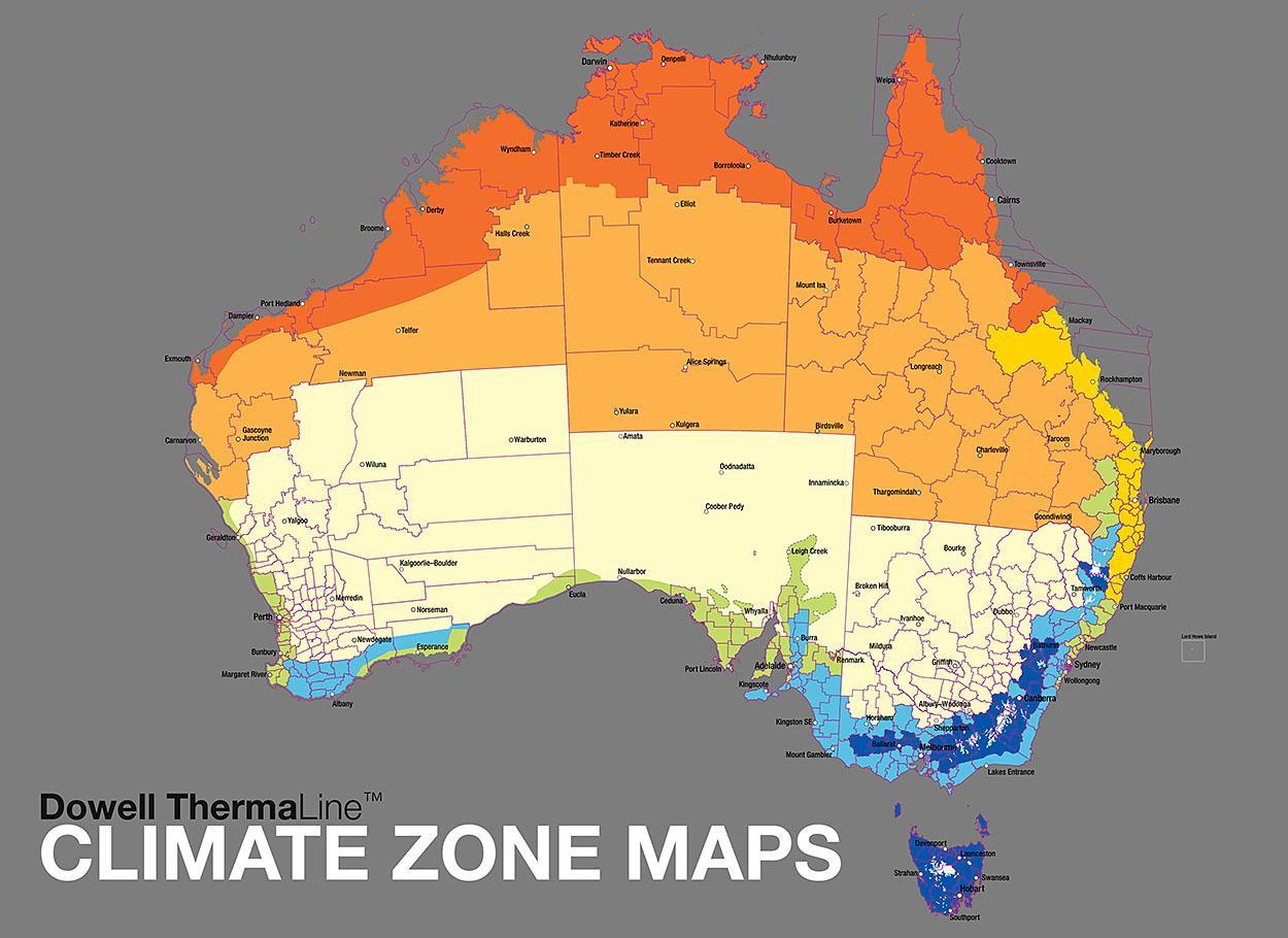Avstraliya Klimatichni Poyasi Karta Na Avstraliya Klimatichni Zoni